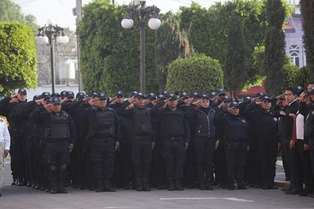 Dan de baja a 50 policías de San Andrés Cholula