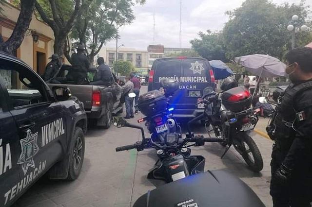 Acusan a policía de Tehuacán por informar a narcomenudistas