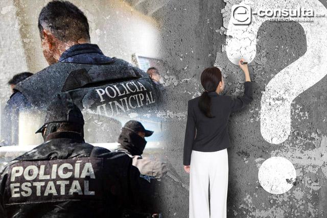 Inegi: Reprueban poblanos a las policías estatal y municipal