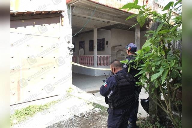 Lo asesinan a puñaladas en su domicilio en Xicotepec