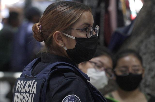 Ya van 15 policías de Tehuacán contagiados de Covid, 2 murieron