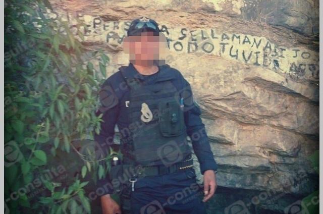 Investigan posible asesinato de policía en Zacapoaxtla