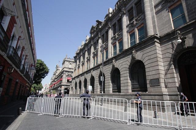 Sin aviso, gobierno estatal cerró calles en Puebla: Ayuntamiento