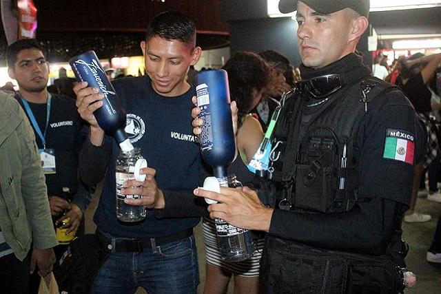 En la Feria de San Marcos cambian botellas de vidrio por cilindros de plástico