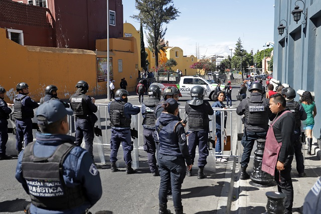 Ediles de Puebla aceptan cambios en mandos de seguridad