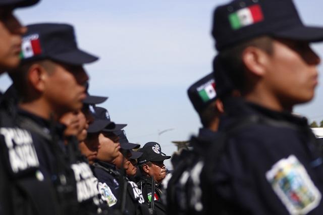 Da Congreso a Almeida control total en cuerpos de seguridad