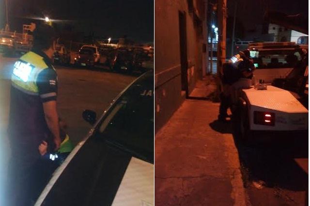 En pleno sexo oral caen otra vez policías municipales de Puebla