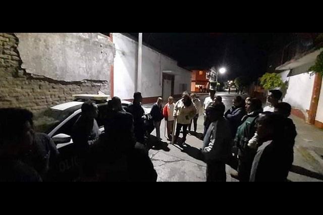 Vecinos impiden robo a casa habitación en Atlixco