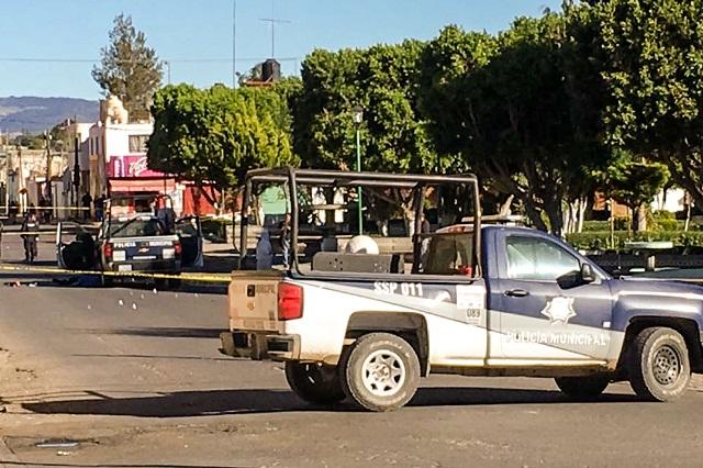 Balean patrulla en San Salvador El Verde y asesinan a 2 policías