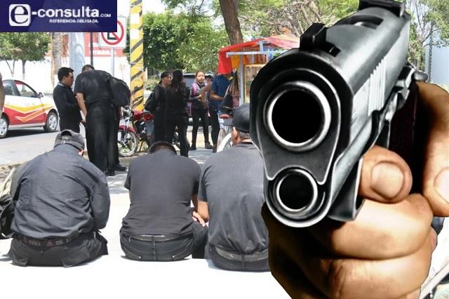 Detectan a policías de barrio armados en Tehuacán
