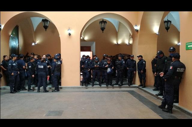 Policías de Tehuacán acusan acoso de la Dirección General de Gobierno