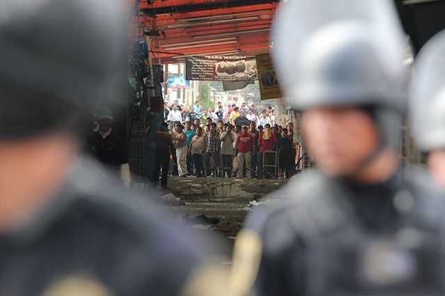 Piden seguridad por temor a violencia en mercado La Fayuca