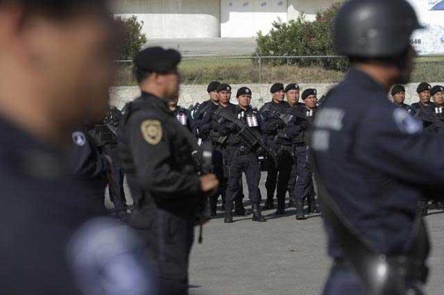 Encabeza FGE capacitación para 300 policías de seis municipios