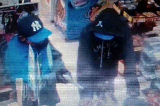 Policías de Atlixco buscaron a ladrones de una tienda y sí los encontraron