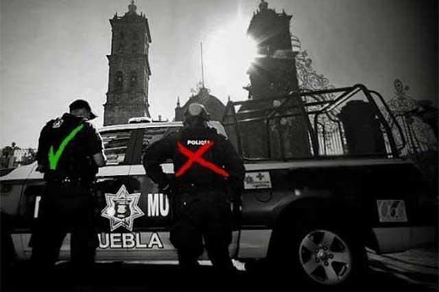 No son confiables 232 policías municipales y estatales