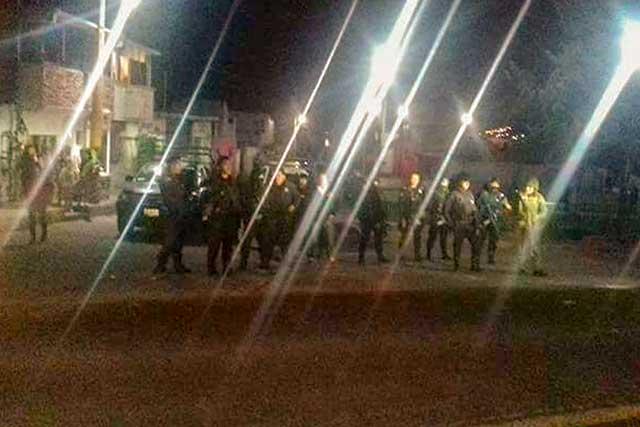 Policías de Lara Grajales disipan riña a balazos y dejan 3 heridos