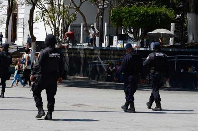 Por golpiza de policías a un ciudadano, toman ayuntamiento de Tasquillo