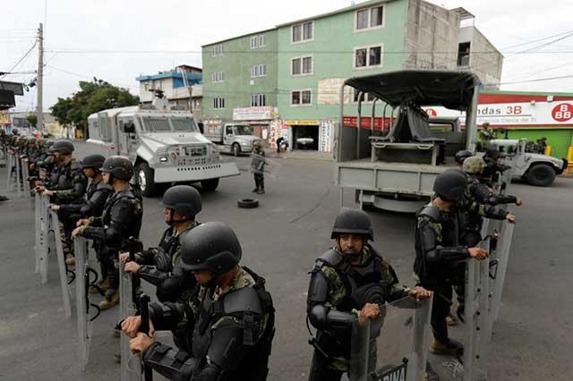 Cesan a 2 policías vinculados con el Cártel de Tláhuac que dirigía El Ojos