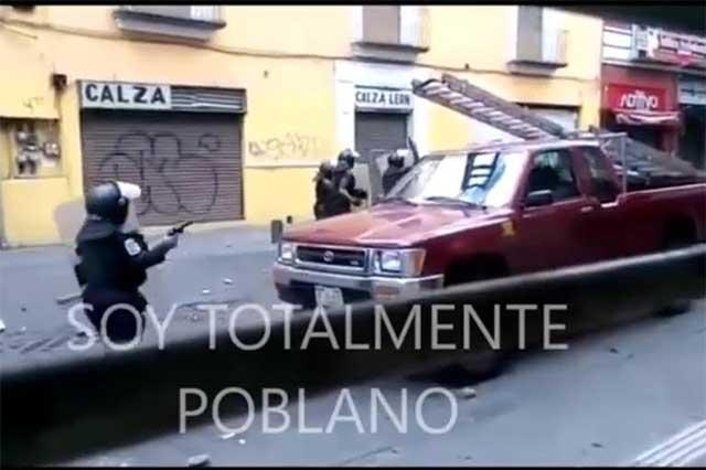 Policías sí usaron armas en operativo contra ambulantes