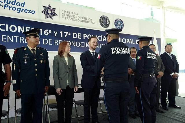 La Policía Municipal de Puebla se fortalece con 200 nuevos elementos