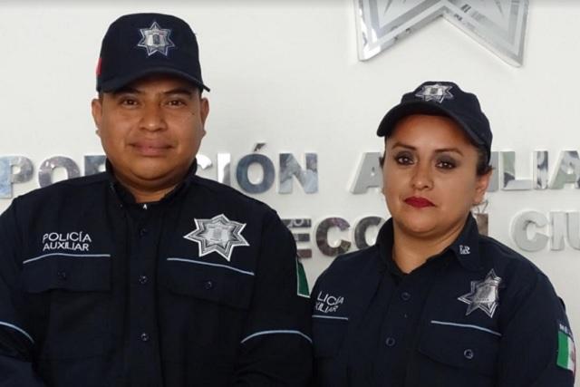 Policías Auxiliares devuelven dinero hallado en un cajero