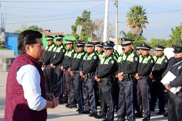 Presentan al nuevo director de seguridad pública de Coronango