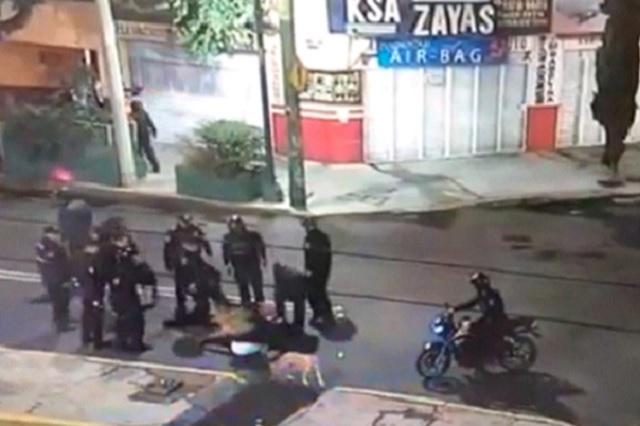 Despedirán a 8 policías por golpiza a reportero de Reforma