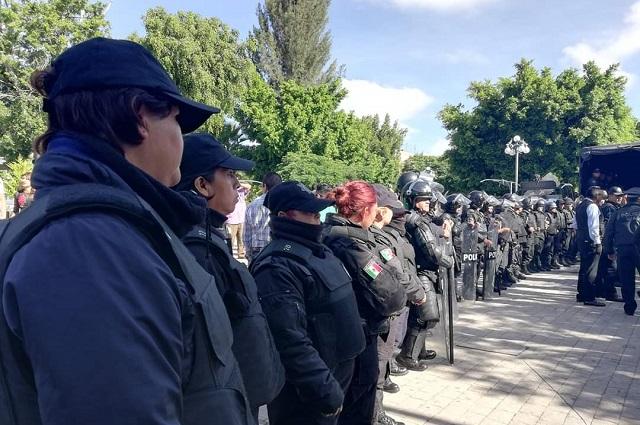 Extienden período para reclutamiento de policías por Covid en Tehuacán