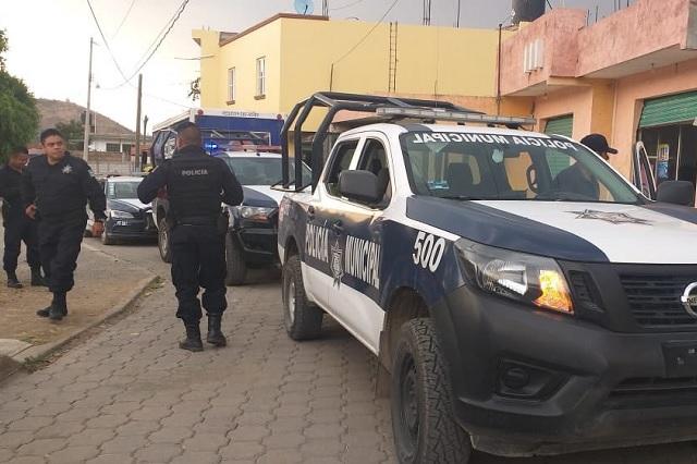 Policías pirata escandalizaban en Lomas de Angelópolis