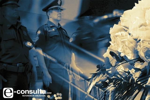 Delincuencia cobra la vida de 64 policías poblanos en 3 años