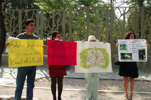 Organizaciones repudian simulación oficial en política ambiental