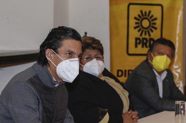PRD se deslinda de apoyos expresados hacia Eduardo Rivera Pérez