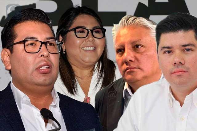 Buscan reelegirse o ampliar su mandato líderes de partidos en Puebla
