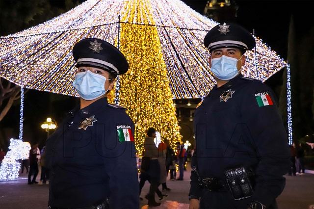 Detienen en Puebla a 104 personas en la última semana del año