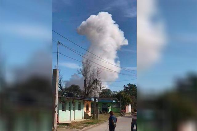 Explota polvorín de regidor en Xiutetelco; hay 4 heridos