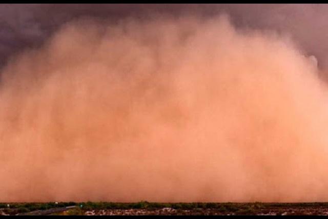 Advierten que el polvo de Sahara afectará la salud y podría alterar el clima