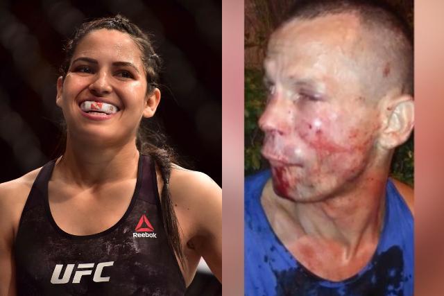 Intenta robarle celular a luchadora de UFC y termina noqueado