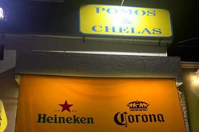 Clausuran en Tehuacán Pomos y Chelas y un 7/24 pese a decreto