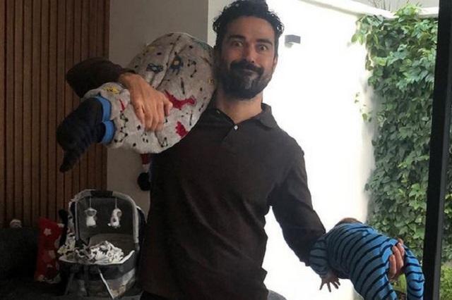 Poncho Herrera tuvo otro hijo y muestra foto con sus dos pequeños