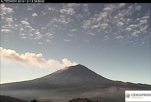 Cumple 25 años reinicio de actividad del Popocatépetl