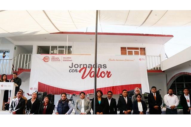 Karina Pérez Popoca inauguró segunda fecha de las