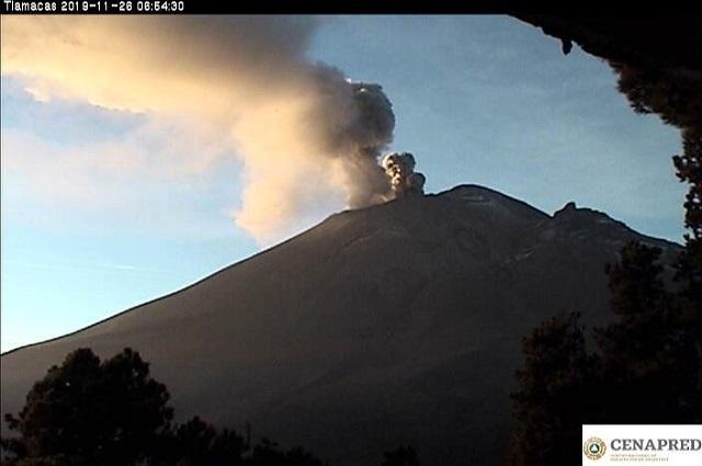 Este miércoles en Puebla simulacro de evacuación volcánica