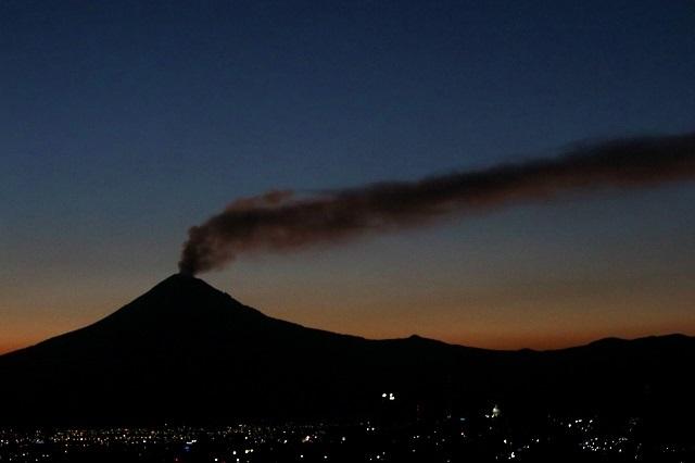 Actividad del Popocatépetl no está aumentando: expertos