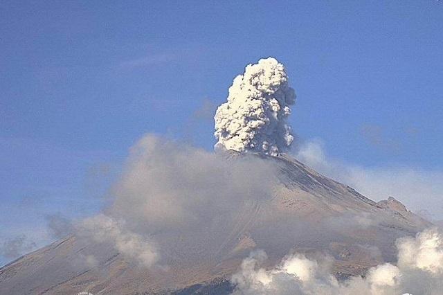 Incrementa la actividad del volcán Popocatépetl: UNAM