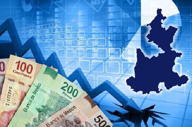 Registra Puebla la tercera mayor caída económica del país