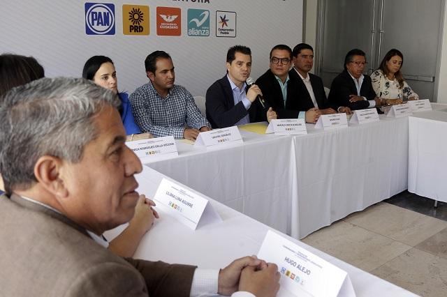 Pide PAN a Morena espacios en la Mesa Directiva del Congreso local