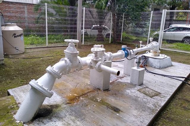 Por rehabilitación de pozo baja abasto de agua en 8 colonias