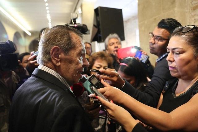 Se analiza controversia o desaparición de poderes en BC, Muñoz Ledo