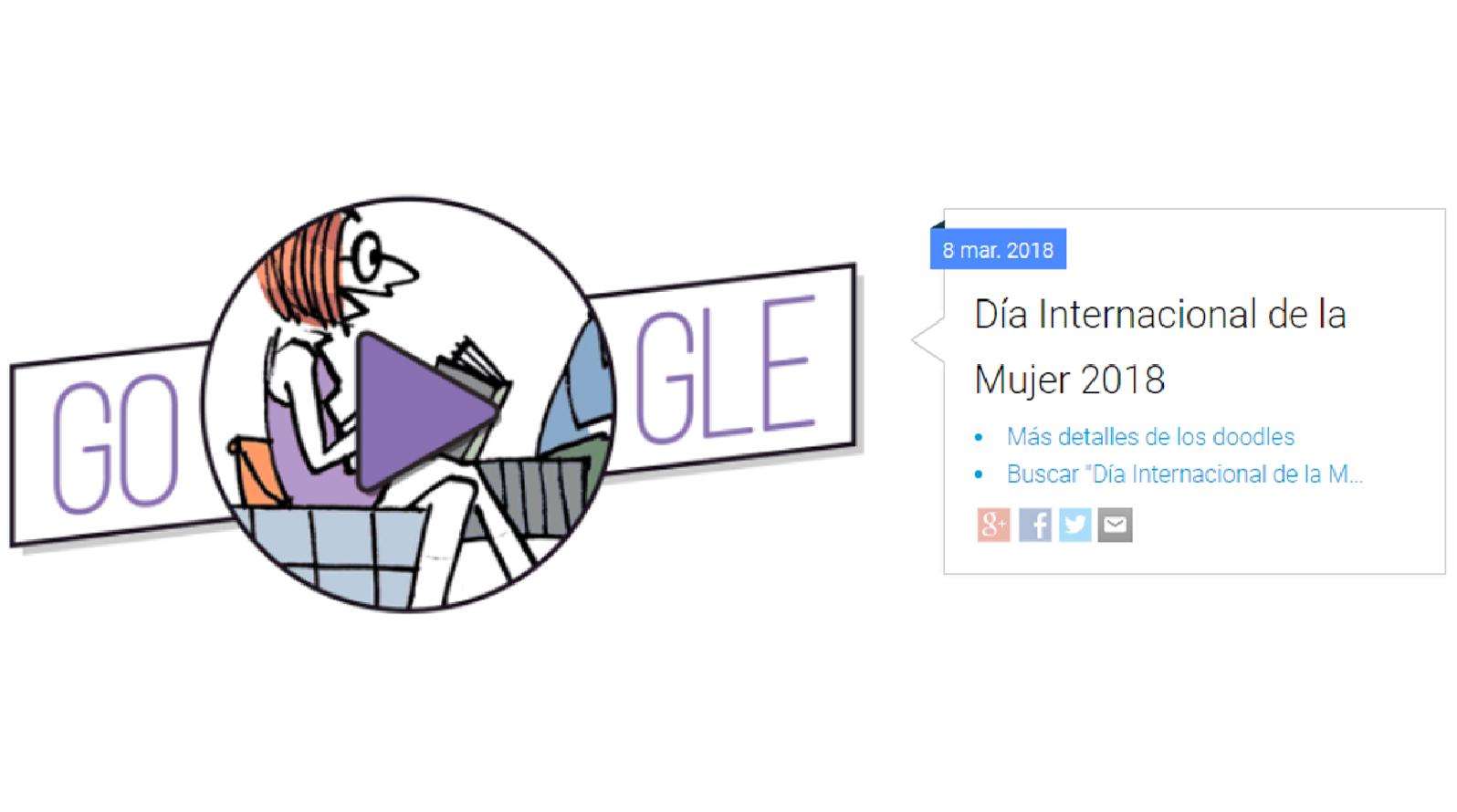 Google reconoce a la mujer con