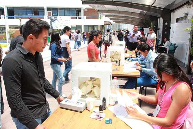 Reportan participación de 82% en elección BUAP a favor de Esparza